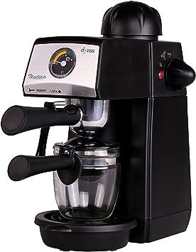 """dyras® """"Italica"""" Espresso, cappuccino y máquina de café con pantalla de"""