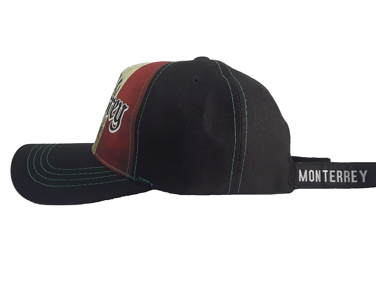 Gorra Charra Monterrey ID 210 GOX2 Mexico/Negro at Amazon Mens Clothing store: