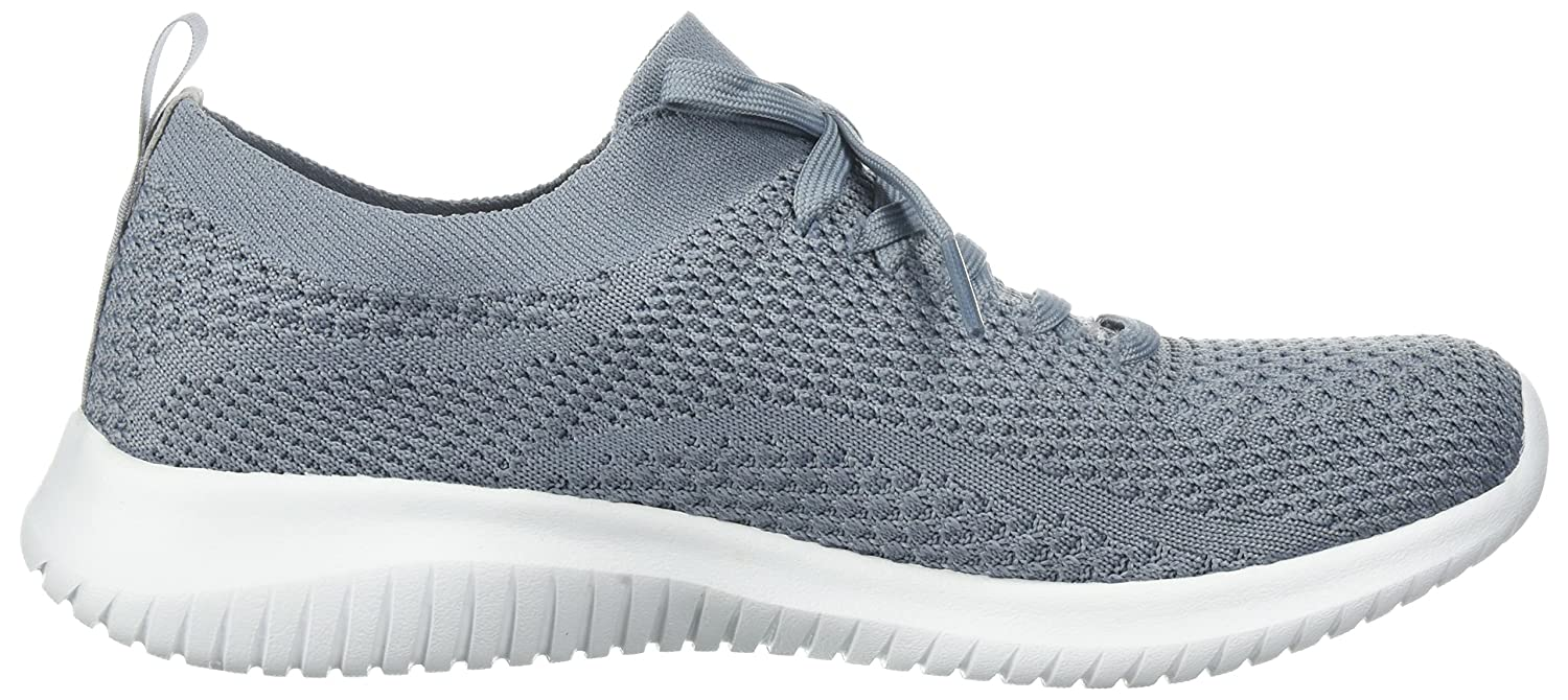 Skechers Damen Ultra Flex-Statements Flex-Statements Ultra Sneaker Grau (Slate) 1184fd