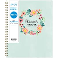 """Blue Sky 2019-2020 Academic Year Weekly & Monthly Planner 8.5"""" x 11"""""""