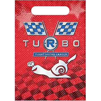 Turbo the Movie Party Favor Bag - 8 count