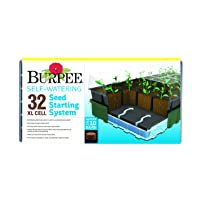Burpee Seed Starter Tray, 32 XL Cells (Self-Watering)