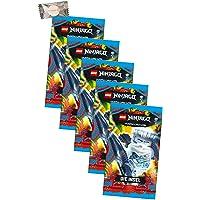 Lego Ninjago kaarten Trading Cards Serie 6 - Het eiland (2021) - 5 boosters + Stickermarkt24de Gum