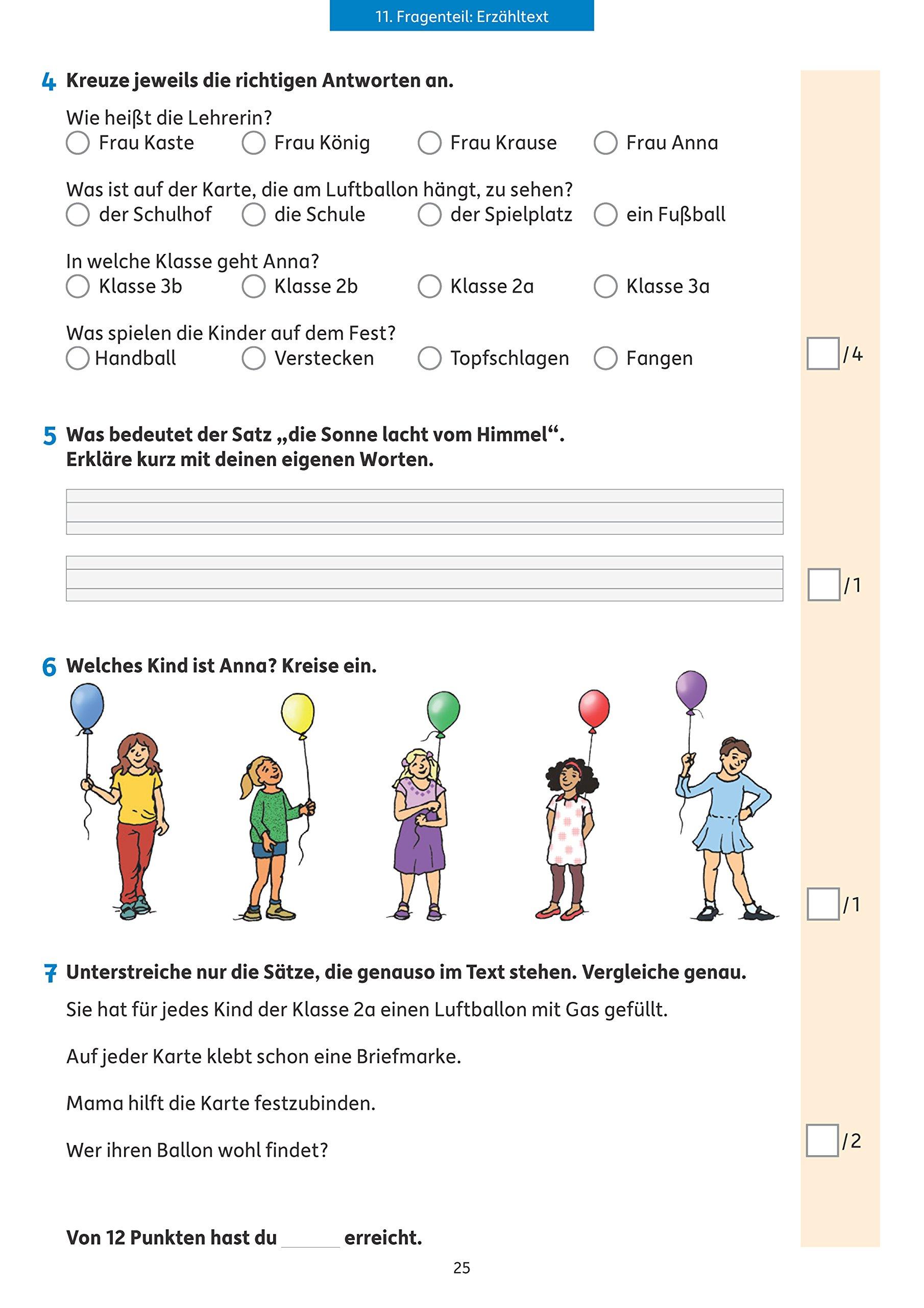 Tests in Deutsch - Lernzielkontrollen 2. Klasse Lernzielkontrollen ...