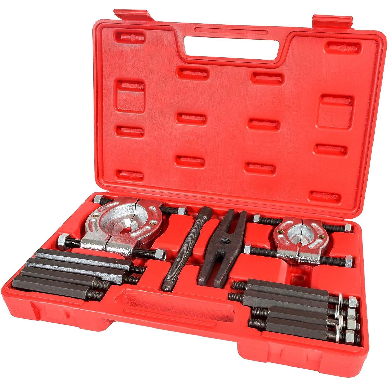 TecTake Kit estrattori 12pz per cuscinetti interni ed esterni avantreno sospensioni 401127