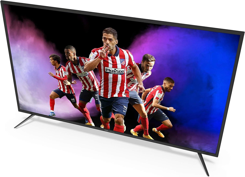 TD Systems K58DLJ12US - Televisores Smart TV 58 Pulgadas 4k UHD Android 9.0 y HBBTV, 1500 PCI Hz, 3X HDMI, 2X USB. DVB-T2/C/S2, Modo Hotel. ...