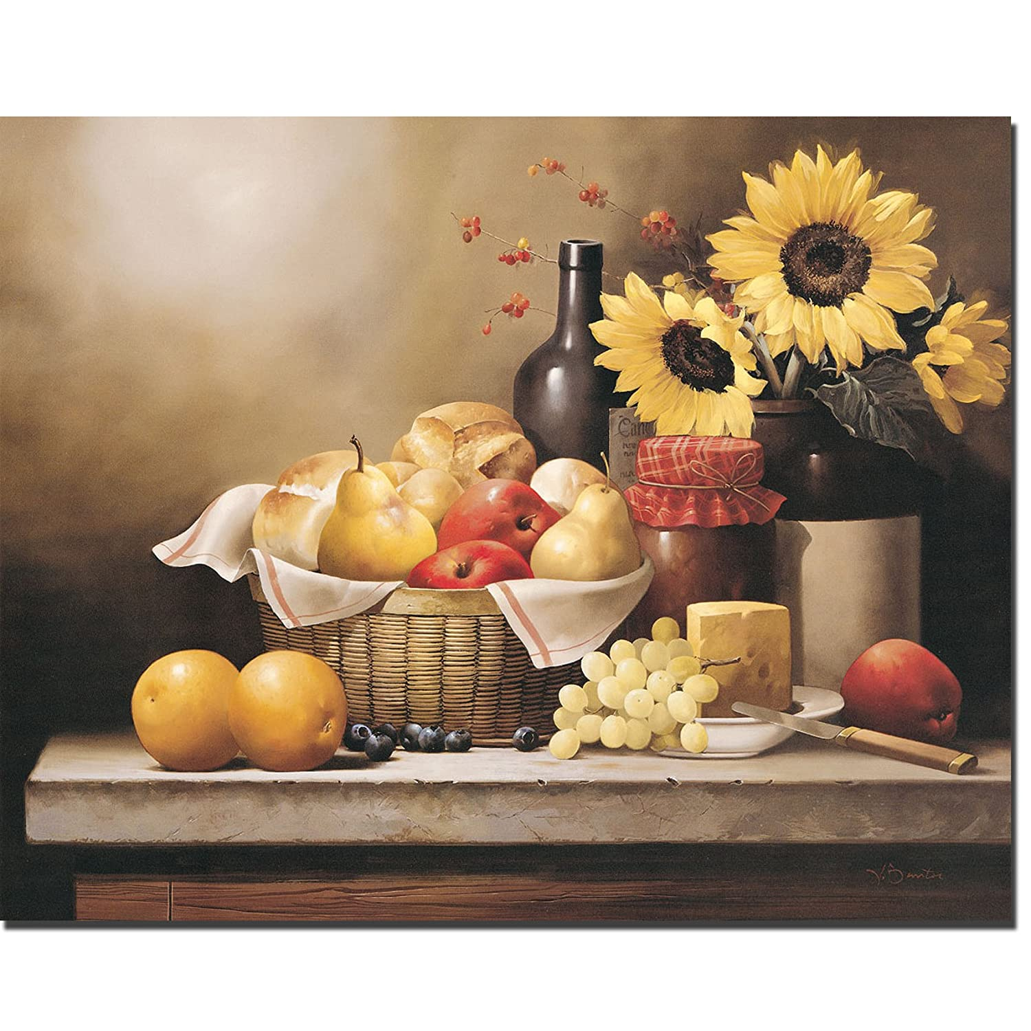 On the Kitchen Table by Victor Santos Premium Gallery-Wrapped Canvas Giclee (Ready to Hang)