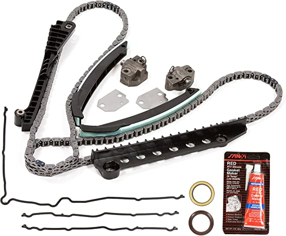 Timing Chain Water Pump Kit Fit 97-01 Ford E150 F150 F250 Expediton 4.6L V8