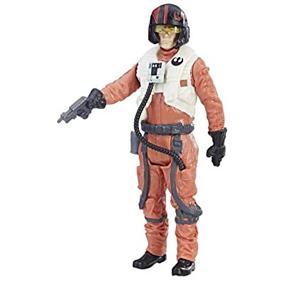 Star Wars: The Last Jedi Poe Dameron (Resistance Pilot) Force Link Figure 3.75 Inches: Toys & Games
