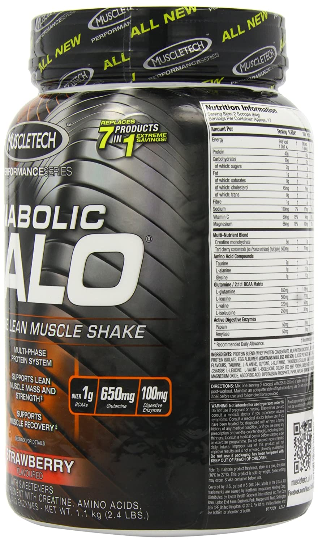 MuscleTech 1.1kg Anabolic Halo Performance Series Strawberry: Amazon.es: Salud y cuidado personal