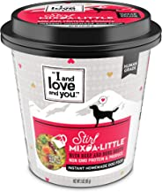 I and Love and You Stir Mix-a-Little All Natural, Human Grade Dehydrated Can Alternative Dog Food - Pack of 6 Cups (Variety