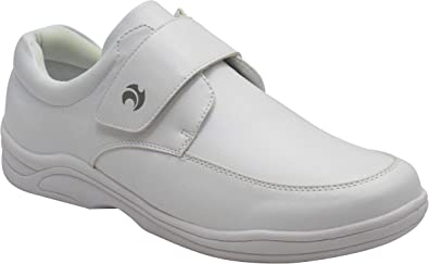 Henselite Mens Victory Quality Lace Lawn Bowling Shoes White UK 7