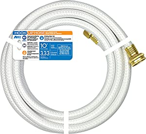 "Teknor Apex 7533-10 Hook Up Hose - 1/2"" x 10'"