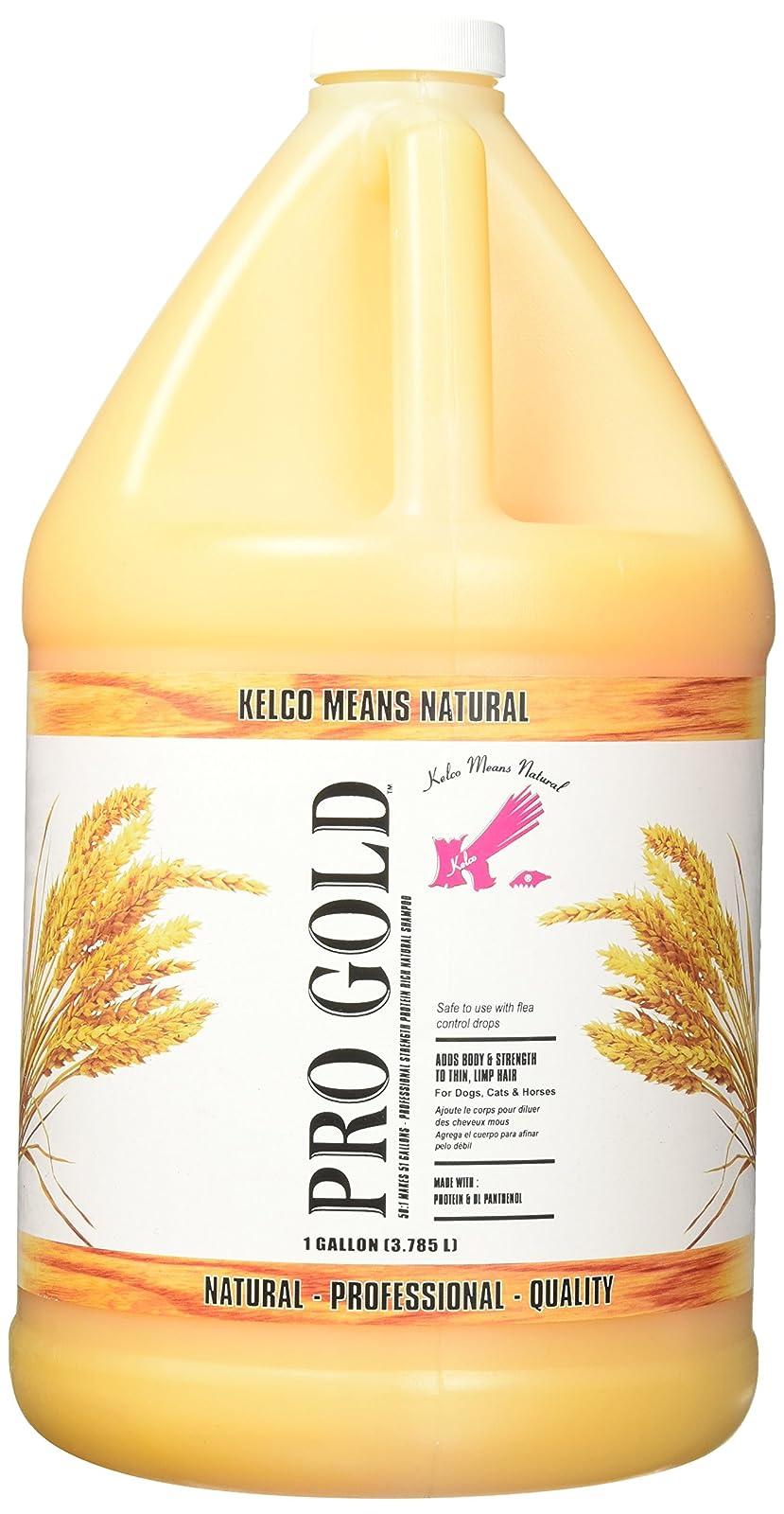 Kelco Pro Gold Shampoo Gallon KE300200 - 1
