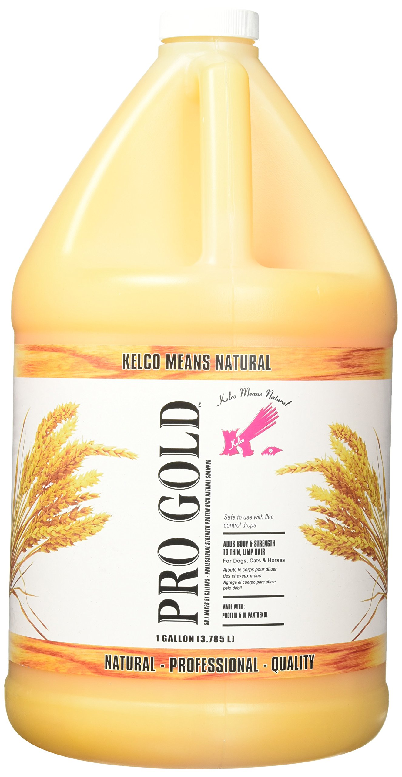 Kelco Pro Gold Shampoo Gallon