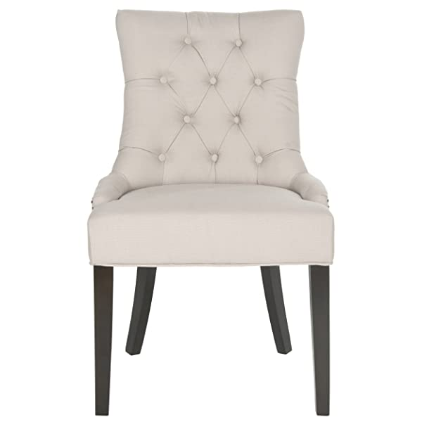 Safavieh Mercer Collection Harlow Ring Chair, Taupe, Set of 2