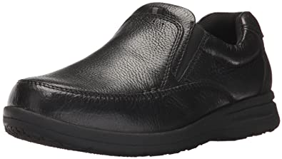 6e5038be50c9bf Image Unavailable. Image not available for. Color  Nunn Bush Men Cam Slip  On Slip-On Loafer Black 10