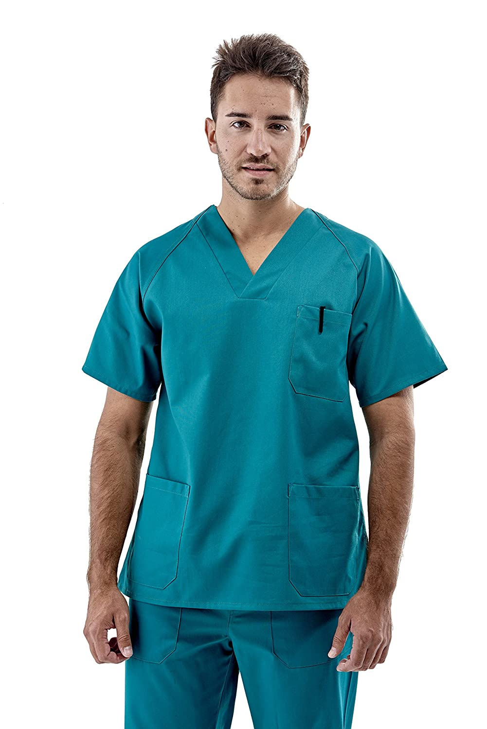 Medical Scrub TUNIC + TROUSER SET (2XL) Rafael Carreno 1010-11 Ensemble Blouse + Pantalons MEDI
