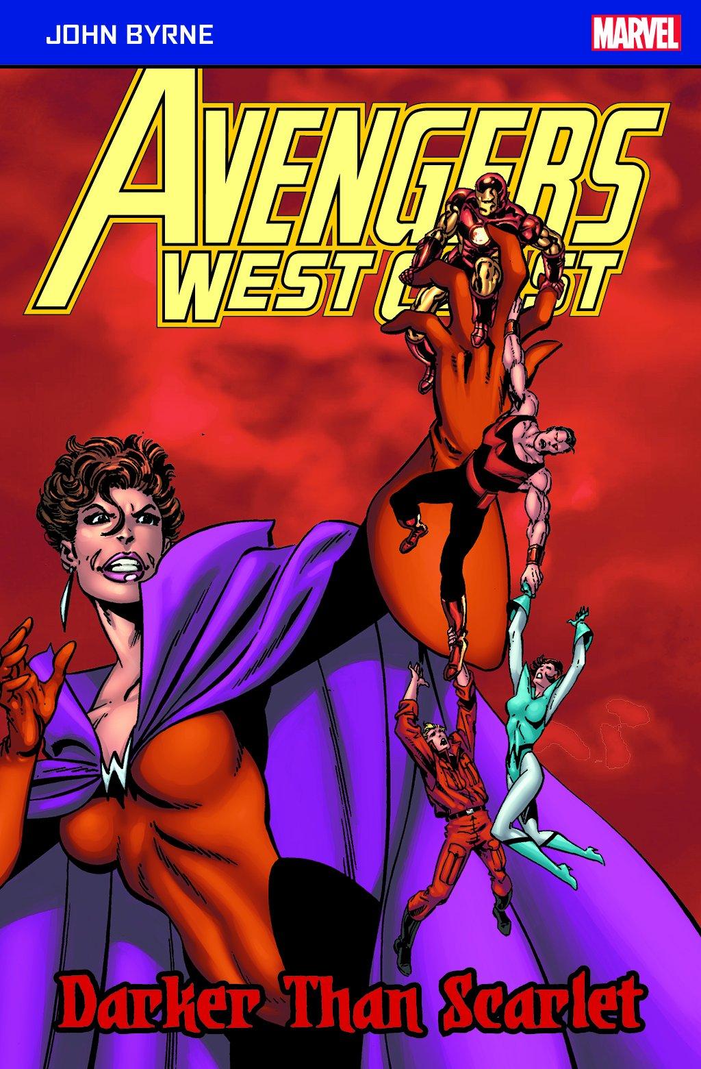 Download Avengers West Coast: Darker Than Scarlet (Marvel Pocketbooks) PDF