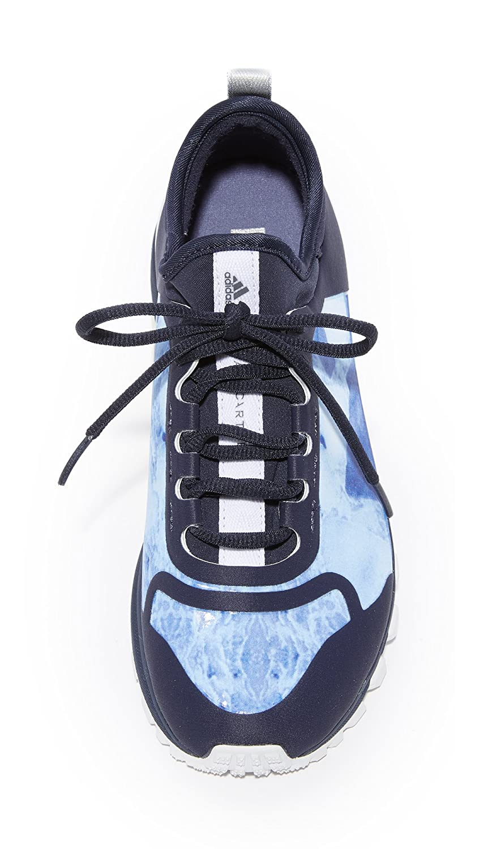 size 40 a0b15 2f934 Amazon.com   adidas by Stella McCartney Women s Adizero XT Printed Sneakers,  Legend Blue White Purple, 7 M US   Fashion Sneakers