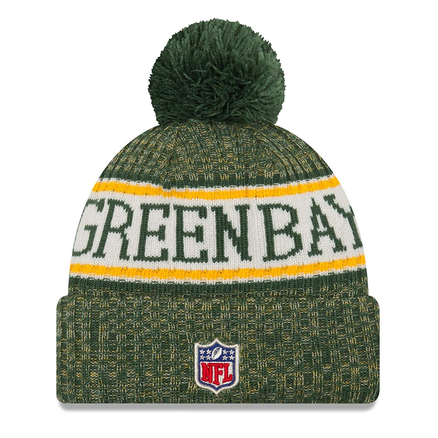 New Era NFL Sideline Bobble Knit 2018//2019 Season Beanie
