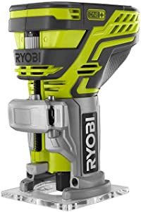 Ryobi P601 One+ 18V Lithium-Ion Cordless Fixed Base Trim Router