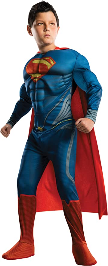 Amazon.com: Disfraz de Superman Man of Steel deluxe de Los ...