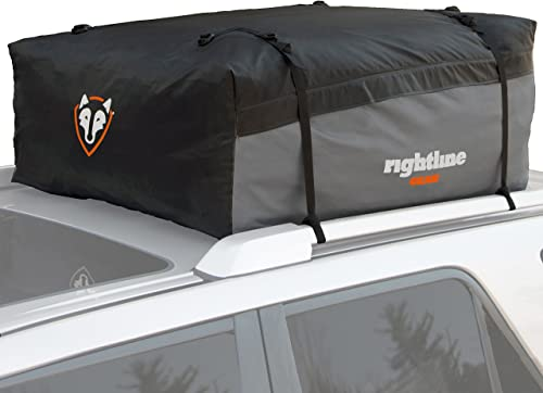 Rightline Gear Sport 2 Car Top Carrier, 15 cu ft, 100% Waterproof, Attaches With or Without Roof Rack
