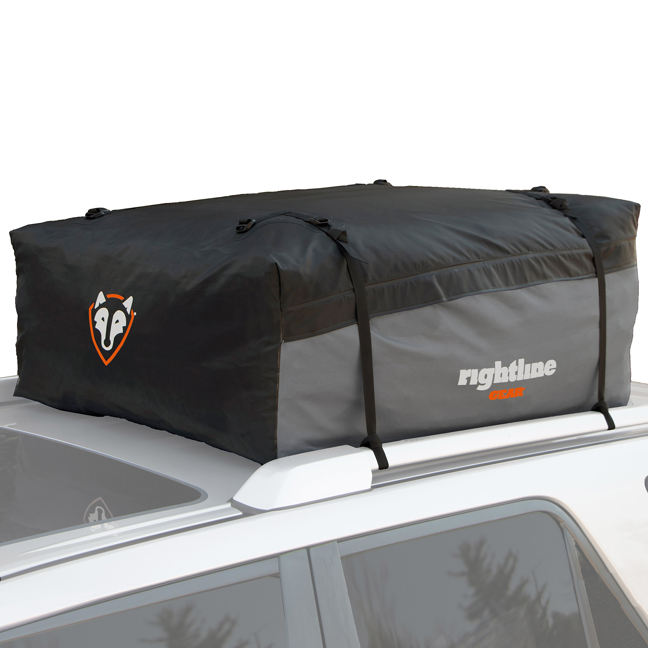 Rightline Gear 100S20 Sport 2 Car Top Carrier, 15 cu ft, Waterproof, Attaches With or Without Roof Rack by Rightline Gear