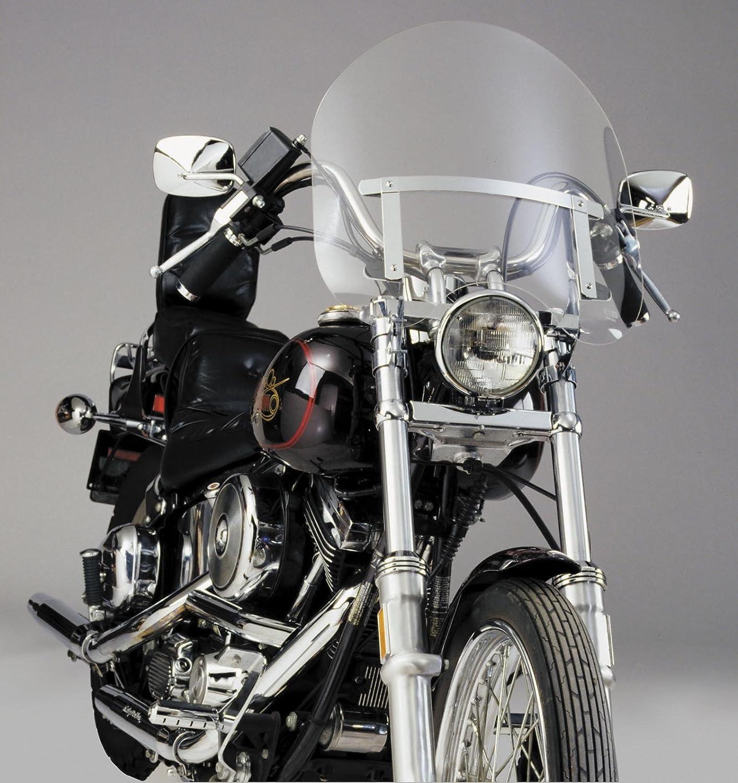 Fork Mounting Hardware For Harley Davidson Sportster Custom XL883C 1998-2009 NEW Black /& Smoke Quarter Fairing Windshield Kit