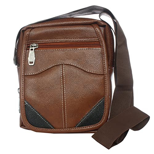 9ad917cef11e Image Unavailable. Image not available for. Colour  Bagaholics Leather  Sling Bag Side ...