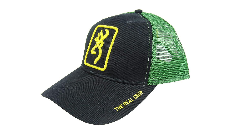 Amazon.com  Browning Mesh Cap The Real Dear Snapback  Sports   Outdoors fb5767513e4