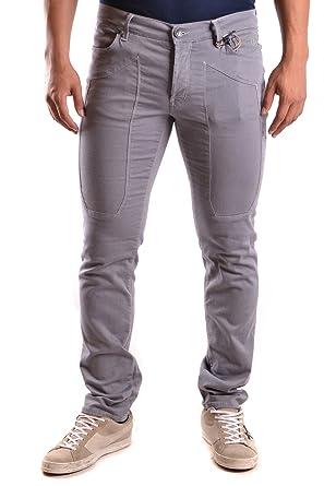 Jeckerson Herren Mcbi162050o Grau Baumwolle Jeans