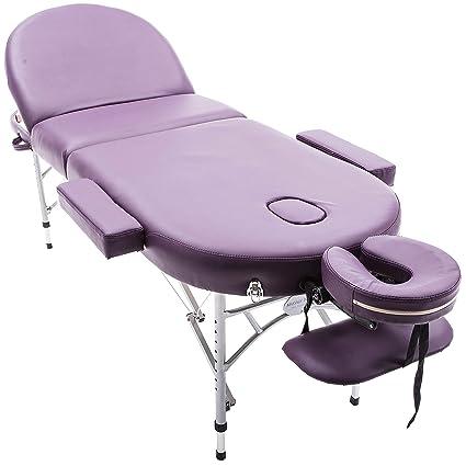 Massage Imperial® Consort Camilla de Masaje Profesional De Aluminio Portátil 3 Secciones Con Espuma De
