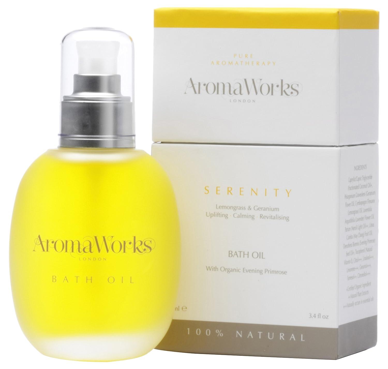 AromaWorks Serenity Bath Oil 100 ml AromaWorks Ltd uk beauty AROP4 SERBAT01