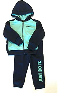 3dbc270639f694 Nike Infant Boys Just Do It Dri-Fit Tracksuit Binary Blue Size 12 Months