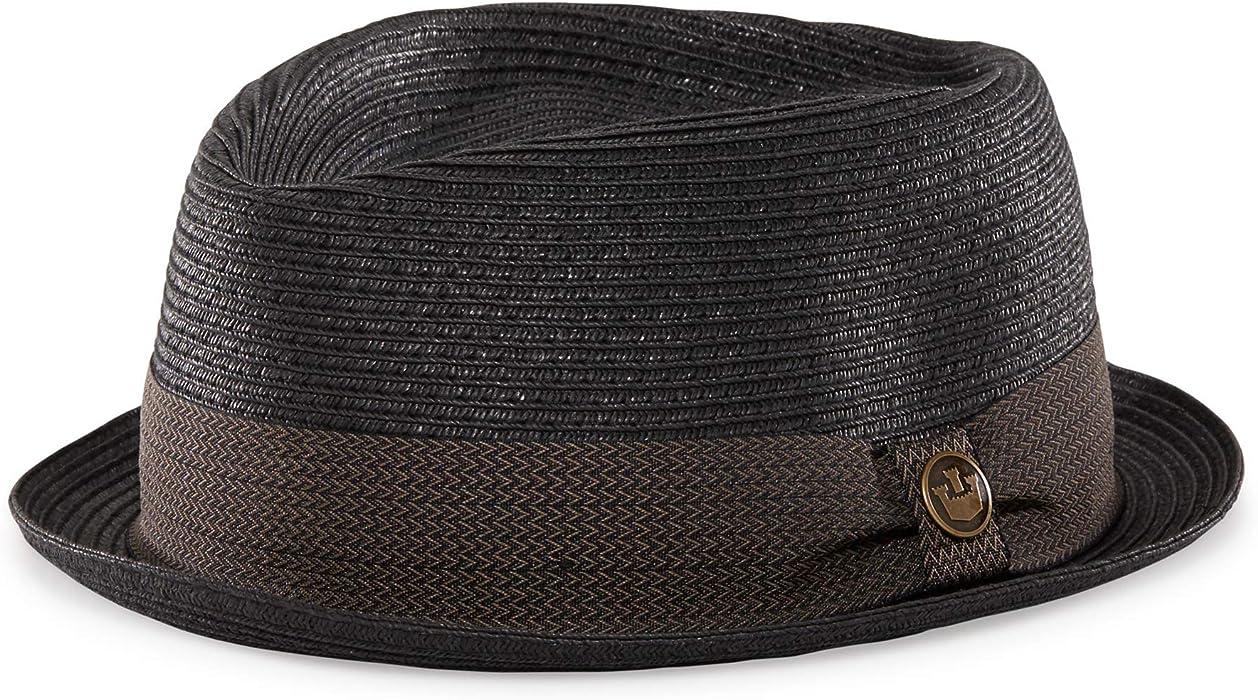 5eb61d9efb8866 Goorin Bros. Tropicana Straw Fedora Hat at Amazon Men's Clothing ...