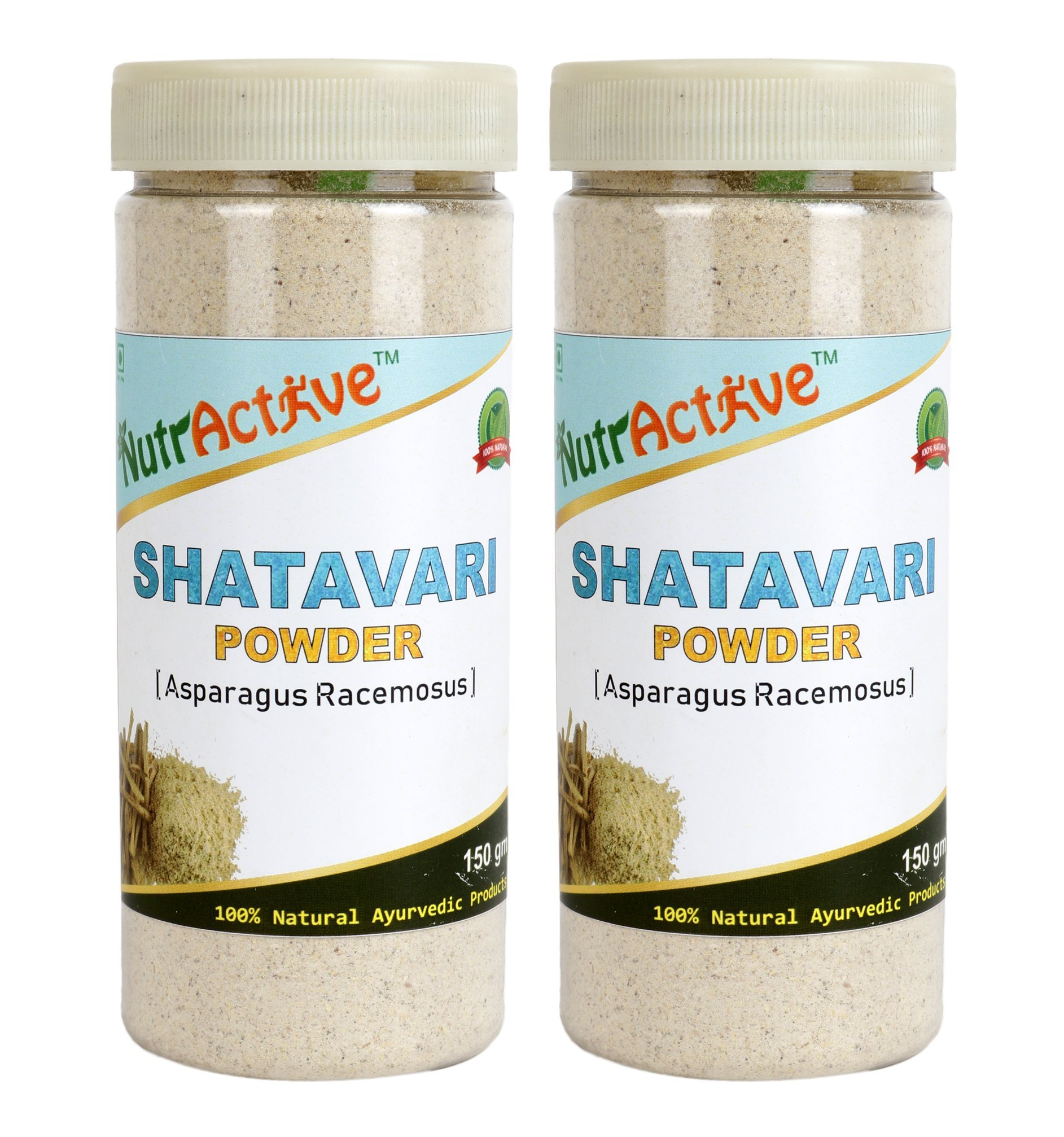 NutrActive Shatavari Powder - 300 gm (Pack of 2)