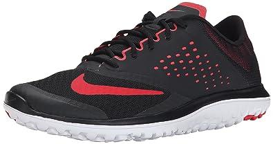 sale retailer 8a0df 90a2d Nike FS Lite Run 2 Chaussures de Course Running Homme Noir Rouge T 47