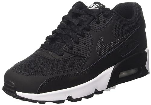 new arrival 6f886 05d3c ... Nike Air MAX 90 Mesh (GS), Zapatillas de Running para Niños, Negro ...