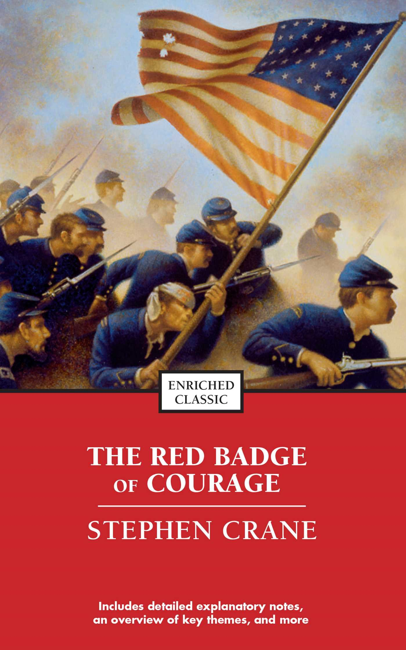 Read Online The Red Badge of Courage (Enriched Classics) PDF