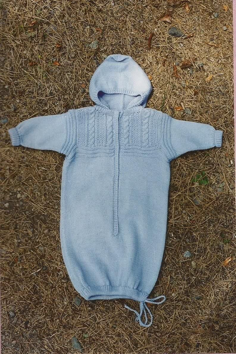 Fisherman Bunting for Baby Oat Couture Knitting Pattern BB202