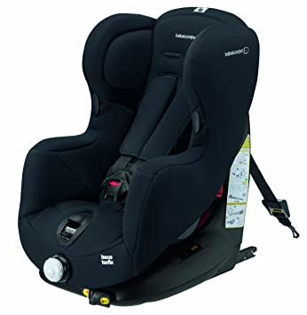 Bebe Confort Car Seat Iseos Isofix Group 1 9 18 Kg Total Black
