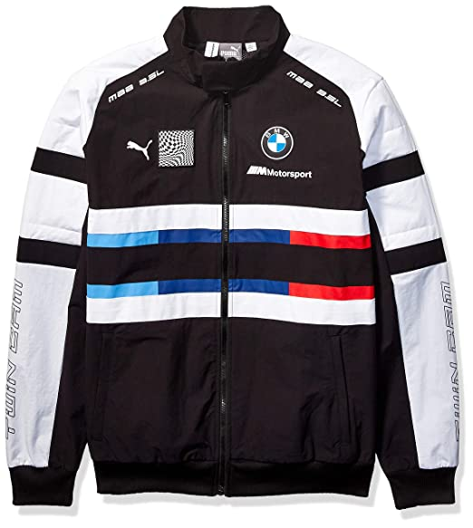 PUMA Mens BMW Motorsport Street Woven Jacket