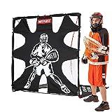 NET PLAYZ  6 x 6 x 6 Feet Lacrosse Goal Fast