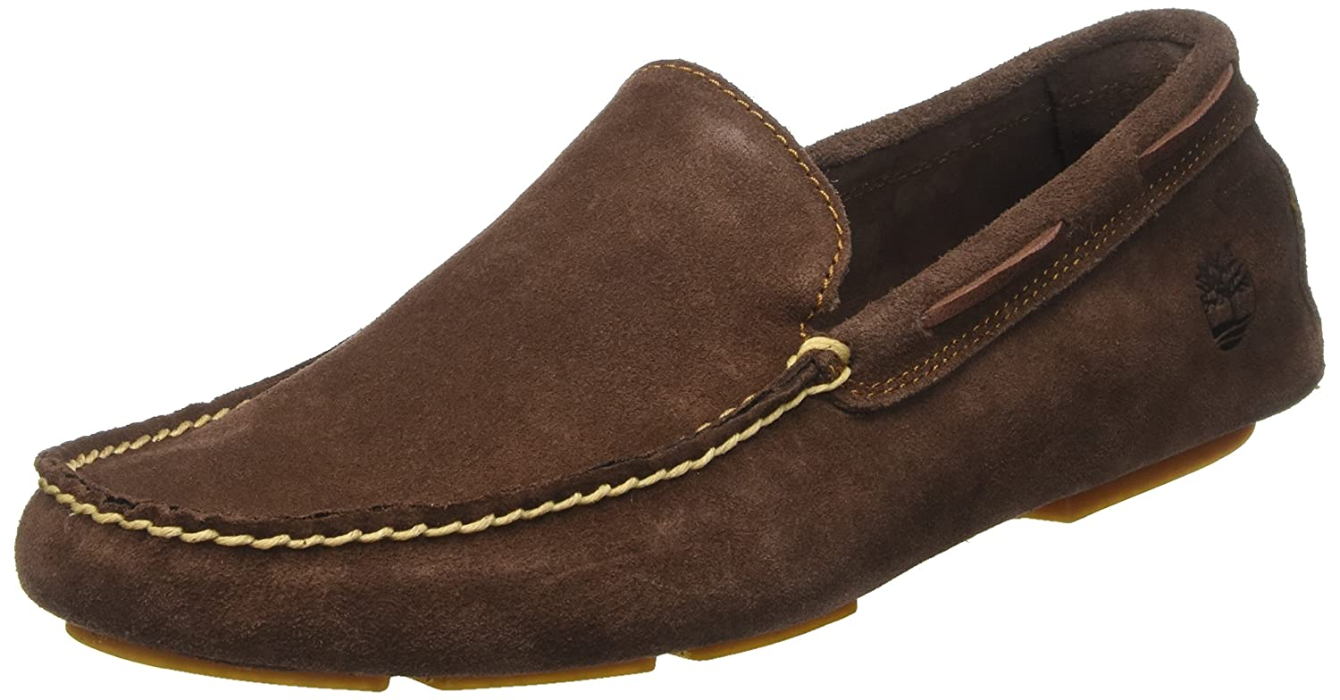 Mens Heritage Driver Venetianpotting Soil Chaos Loafers, Brown, 7 UK Timberland