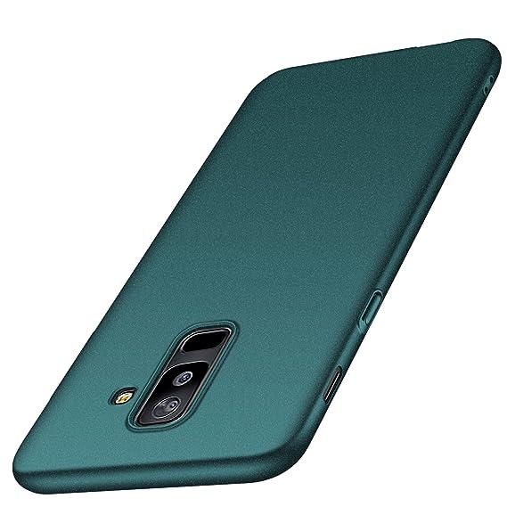 anccer Funda para Samsung Galaxy A6 Plus, Ultra Slim Anti-Rasguño ...