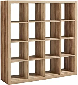 Better Homes and Gardens 16 Cube Storage Organizer, Weathered