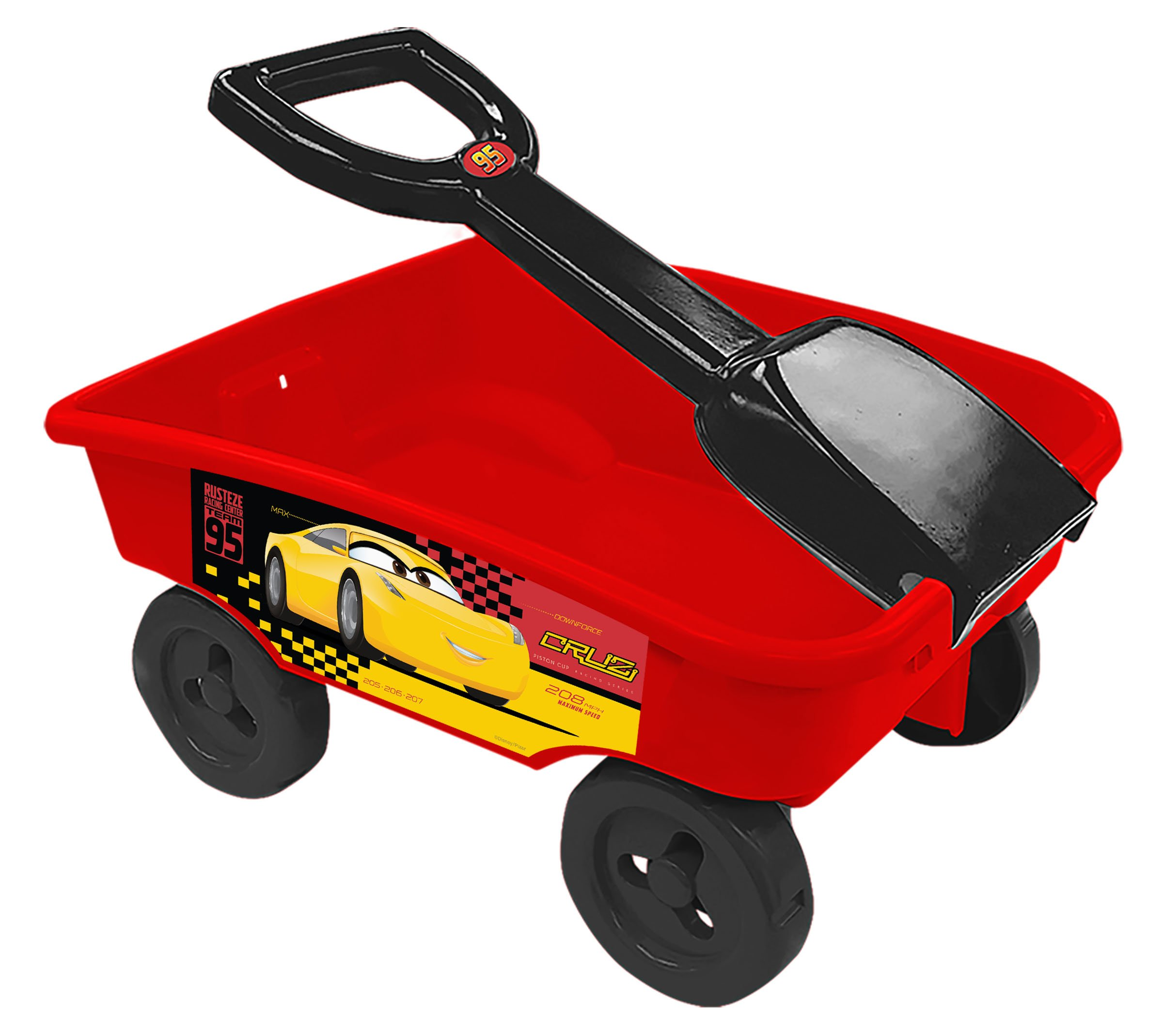 Disney Cars 3Shovel Wagon Toy