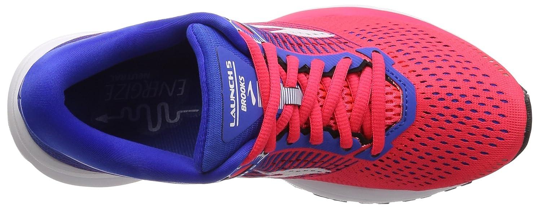 Brooks Womens B0711JFCMF Launch 5 B0711JFCMF Womens 7.5 B(M) US|Pink/Blue/White b31c42